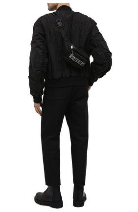 Мужская текстильная поясная сумка light 3 GIVENCHY черного цвета, арт. BK5037K128 | Фото 2