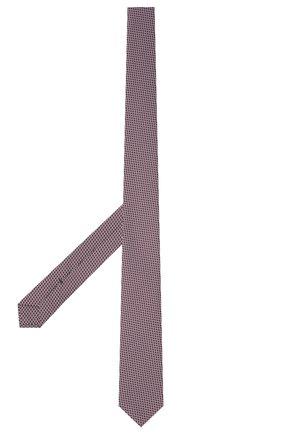 Мужской галстук BOSS сиреневого цвета, арт. 50452157 | Фото 2
