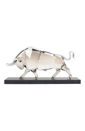 Скульптура bull SWAROVSKI прозрачного цвета, арт. 5529962 | Фото 2