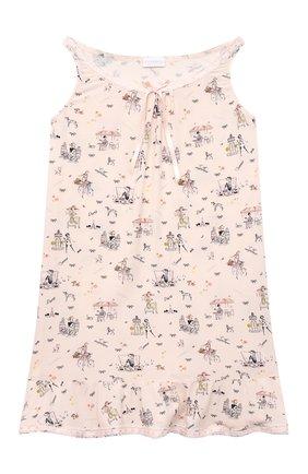 Детская сорочка LA PERLA розового цвета, арт. 70213/2A-6A | Фото 1