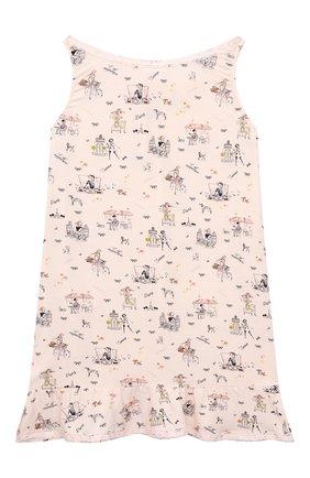 Детская сорочка LA PERLA розового цвета, арт. 70213/2A-6A | Фото 2