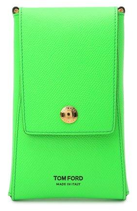 Чехол для iphone TOM FORD зеленого цвета, арт. Y0302T-LCL143 | Фото 1