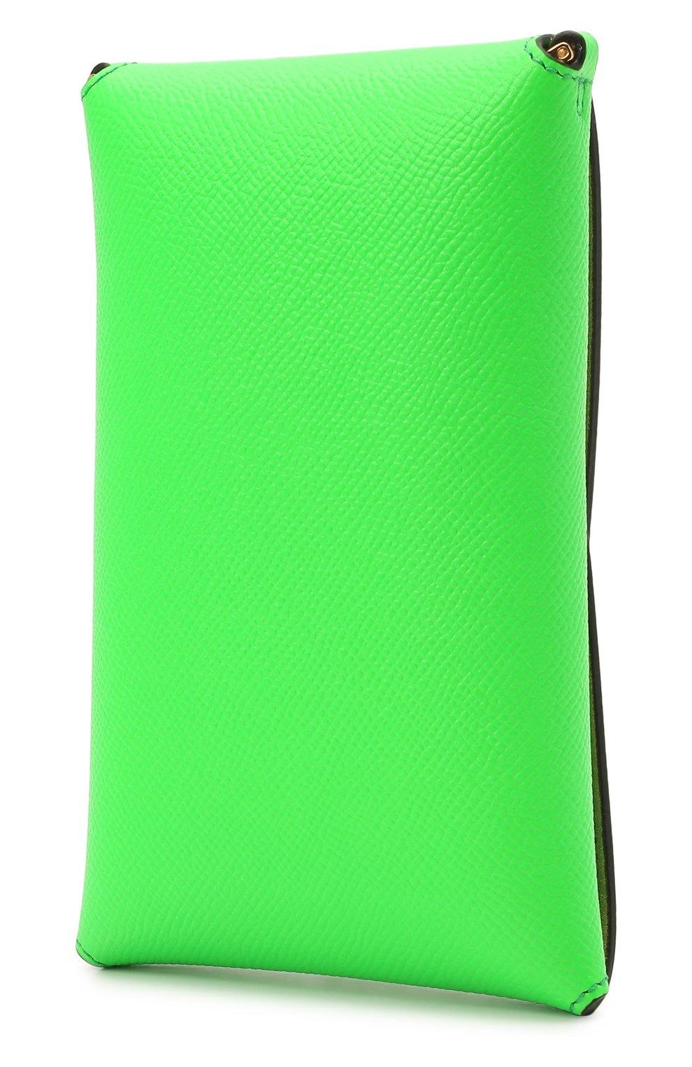 Чехол для iphone TOM FORD зеленого цвета, арт. Y0302T-LCL143 | Фото 2
