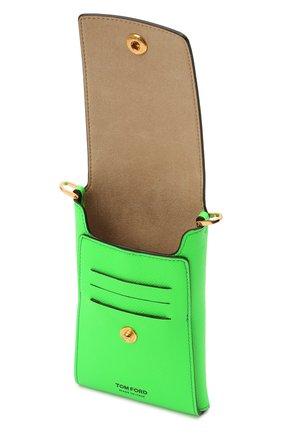 Чехол для iphone TOM FORD зеленого цвета, арт. Y0302T-LCL143 | Фото 3