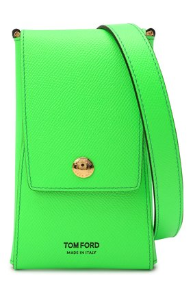 Чехол для iphone TOM FORD зеленого цвета, арт. Y0302T-LCL143 | Фото 4