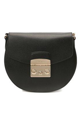 Женская сумка metropolis mini FURLA черного цвета, арт. BATJEP0/ARE000   Фото 1