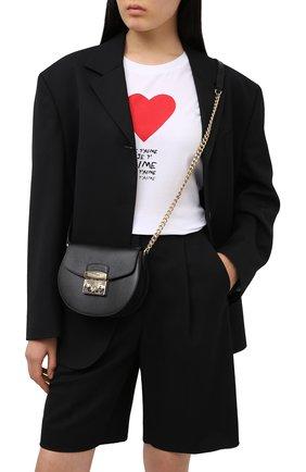 Женская сумка metropolis mini FURLA черного цвета, арт. BATJEP0/ARE000   Фото 2