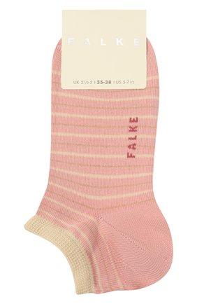 Женские хлопковые носки FALKE розового цвета, арт. 46336 | Фото 1