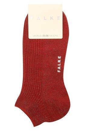 Женские носки FALKE бордового цвета, арт. 46338 | Фото 1