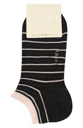 Женские хлопковые носки FALKE темно-серого цвета, арт. 46336 | Фото 1