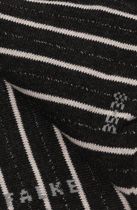 Женские хлопковые носки FALKE темно-серого цвета, арт. 46336 | Фото 2