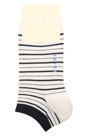 Женские хлопковые носки FALKE белого цвета, арт. 46336 | Фото 1
