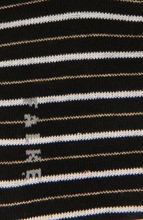 Женские хлопковые носки FALKE черного цвета, арт. 46336 | Фото 2