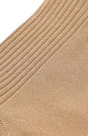 Женские носки FALKE светло-бежевого цвета, арт. 46338 | Фото 2