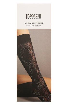 Женские гольфы helena WOLFORD черного цвета, арт. 31573 | Фото 1