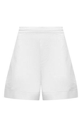 Женские хлопковые шорты DSQUARED2 белого цвета, арт. S75MU0372/S53579 | Фото 1