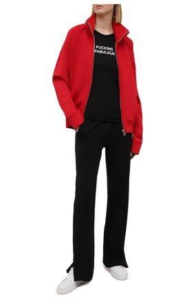 Женская шелковая футболка TOM FORD черного цвета, арт. TSJ444-FAX835 | Фото 2