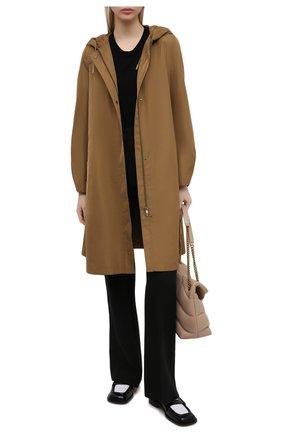 Женская плащ LORO PIANA коричневого цвета, арт. FAL5714 | Фото 2