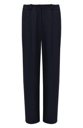 Женские брюки KENZO синего цвета, арт. FB52PA0275AI   Фото 1