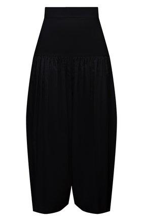 Женские хлопковые брюки ALEXANDRE VAUTHIER черного цвета, арт. 211PA1404 0191-1008 | Фото 1