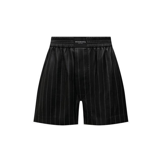 Кожаные шорты Alexander Wang