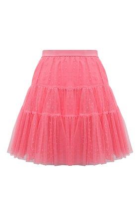 Женская юбка REDVALENTINO розового цвета, арт. VR0RAG40/5MM | Фото 1