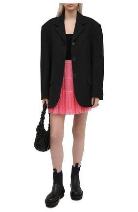 Женская юбка REDVALENTINO розового цвета, арт. VR0RAG40/5MM | Фото 2