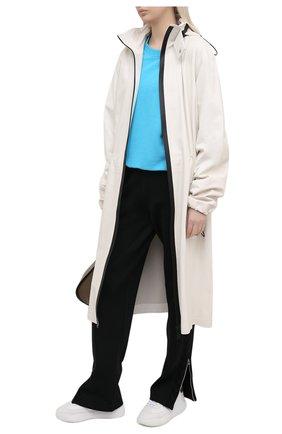 Женские комбинированные кроссовки loop runner STELLA MCCARTNEY белого цвета, арт. 800321/N0212   Фото 2 (Подошва: Платформа; Материал внешний: Текстиль, Экокожа; Материал внутренний: Текстиль)