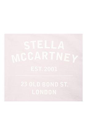 Женская хлопковая бандана STELLA MCCARTNEY сиреневого цвета, арт. 603095/SMP90   Фото 1 (Материал: Текстиль, Хлопок)
