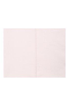 Женская хлопковая бандана STELLA MCCARTNEY сиреневого цвета, арт. 603095/SMP90   Фото 2 (Материал: Текстиль, Хлопок)