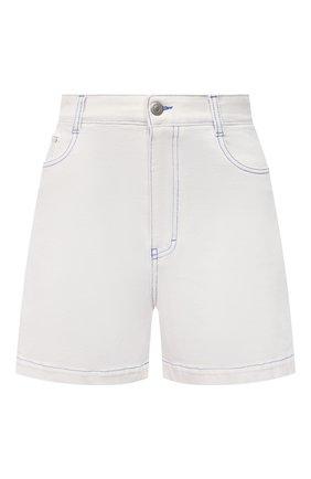 Женские джинсовые шорты STELLA MCCARTNEY белого цвета, арт. 603075/S0H38 | Фото 1