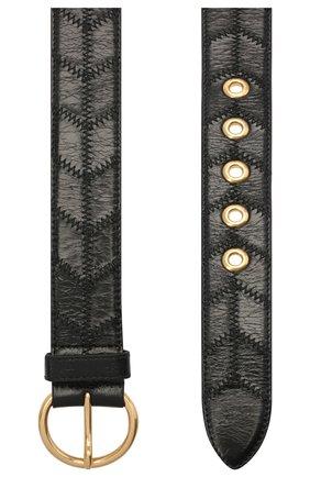 Женский кожаный ремень MIU MIU черного цвета, арт. 5CC489-2DVU-F0002 | Фото 2