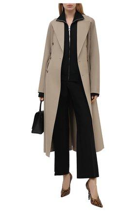 Женские кожаные туфли VETEMENTS леопардового цвета, арт. WE51HE100L 2471 | Фото 2