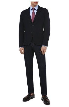Мужские кожаные пенни-лоферы BARRETT бордового цвета, арт. 211U033.6/BETIS CREAM | Фото 2