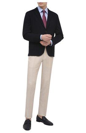 Мужские кожаные пенни-лоферы BARRETT синего цвета, арт. 131U016.9/CERV0 ASP0RTABILE | Фото 2
