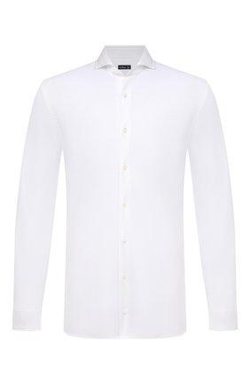 Мужская хлопковая рубашка VAN LAACK белого цвета, арт. M-PER-LSF/180031 | Фото 1