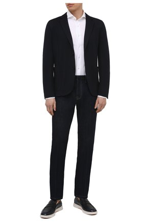 Мужская хлопковая рубашка VAN LAACK белого цвета, арт. M-PER-LSF/180031 | Фото 2