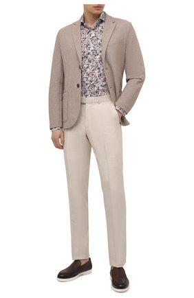 Мужская хлопковая рубашка VAN LAACK разноцветного цвета, арт. RES0-SF/171680 | Фото 2