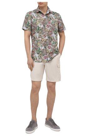 Мужская хлопковая рубашка VAN LAACK разноцветного цвета, арт. RET-S-TF/171682 | Фото 2