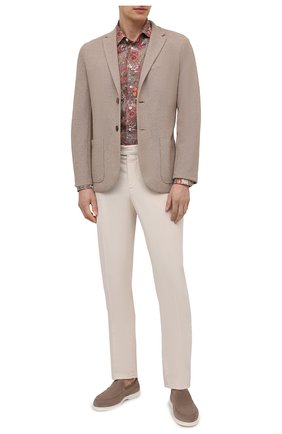 Мужская рубашка изо льна и хлопка VAN LAACK разноцветного цвета, арт. RET-TF/171577 | Фото 2