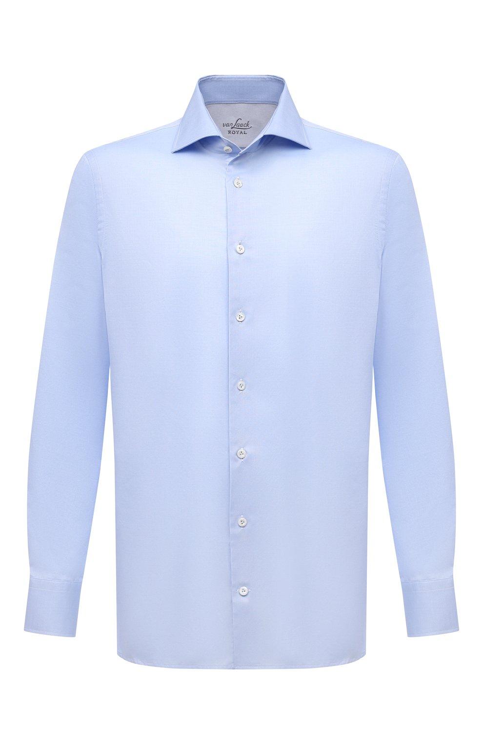 Мужская хлопковая сорочка VAN LAACK голубого цвета, арт. RIVARA-SF02/150189 | Фото 1