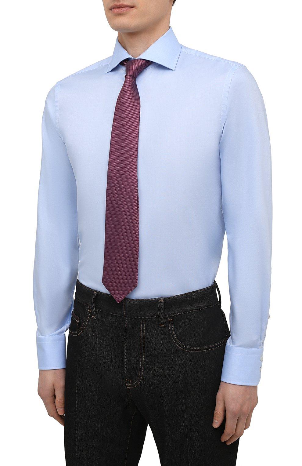 Мужская хлопковая сорочка VAN LAACK голубого цвета, арт. RIVARA-SF02/150189 | Фото 4
