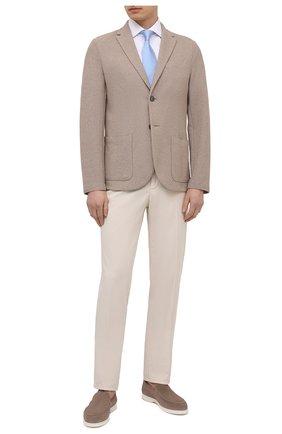 Мужская хлопковая сорочка VAN LAACK белого цвета, арт. RIVARA-S-SF/131540 | Фото 2