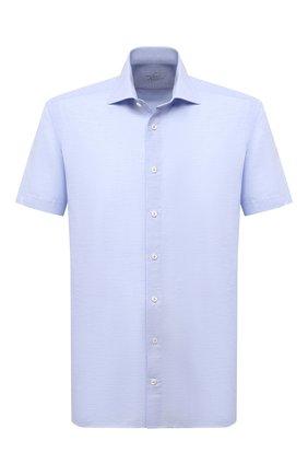 Мужская сорочка из хлопка и льна VAN LAACK голубого цвета, арт. RIVARA-S-TF/160006 | Фото 1
