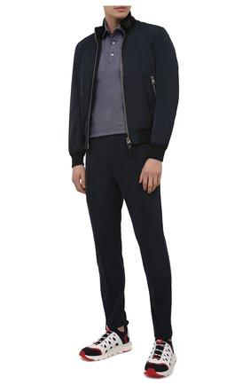 Мужские текстильные кроссовки sock 2.0 Z ZEGNA разноцветного цвета, арт. A4917X-LHTPU | Фото 2 (Материал внешний: Текстиль; Материал внутренний: Текстиль; Подошва: Массивная; Стили: Спорт)