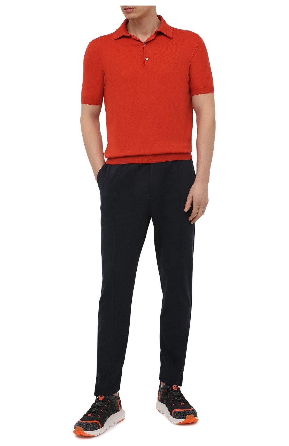 Мужские текстильные кроссовки sock 2.0 Z ZEGNA темно-серого цвета, арт. A4917X-LHTPU   Фото 2 (Материал внешний: Текстиль; Материал внутренний: Текстиль; Подошва: Массивная; Стили: Спорт)