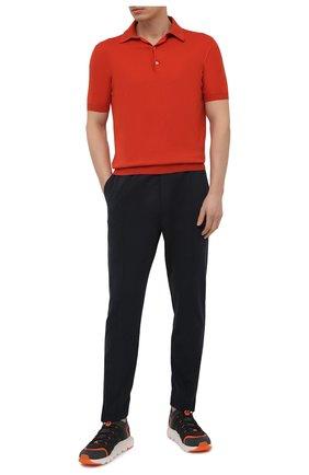 Мужские текстильные кроссовки sock 2.0 Z ZEGNA темно-серого цвета, арт. A4917X-LHTPU | Фото 2 (Материал внутренний: Текстиль; Подошва: Массивная; Материал внешний: Текстиль; Стили: Спорт)