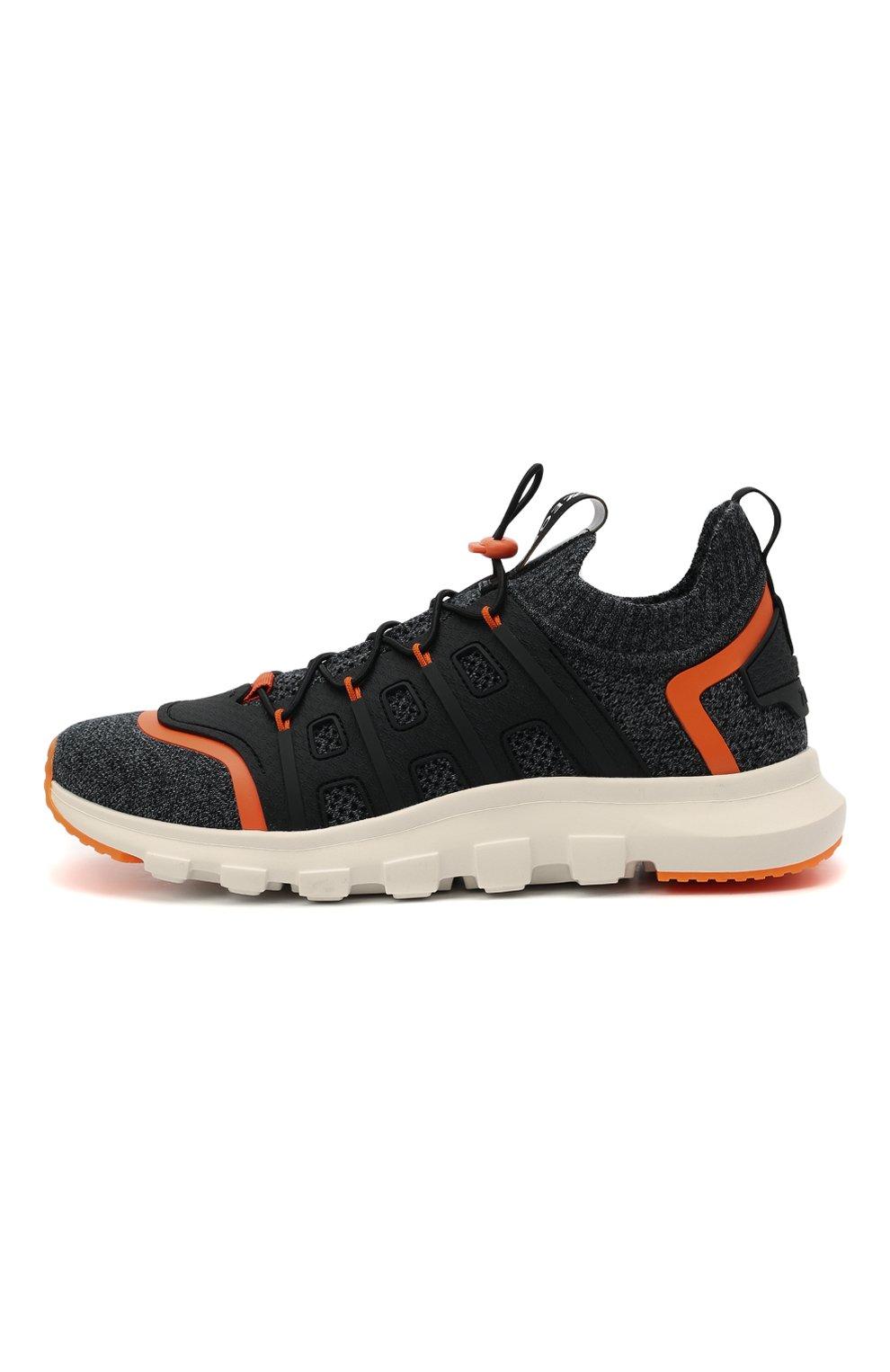 Мужские текстильные кроссовки sock 2.0 Z ZEGNA темно-серого цвета, арт. A4917X-LHTPU   Фото 3 (Материал внешний: Текстиль; Материал внутренний: Текстиль; Подошва: Массивная; Стили: Спорт)