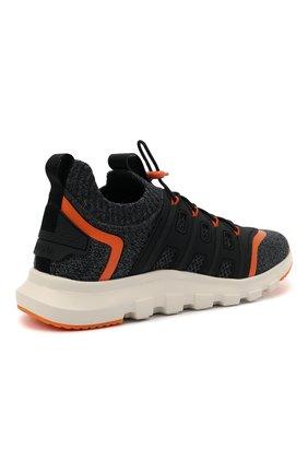 Мужские текстильные кроссовки sock 2.0 Z ZEGNA темно-серого цвета, арт. A4917X-LHTPU   Фото 4 (Материал внешний: Текстиль; Материал внутренний: Текстиль; Подошва: Массивная; Стили: Спорт)