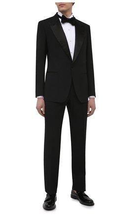 Мужская хлопковая сорочка ERMENEGILDO ZEGNA белого цвета, арт. 901980/9MENSM | Фото 2